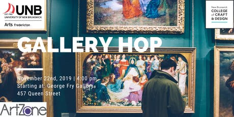 UNBF Faculty of Arts Gallery Hop and Art Activity tickets