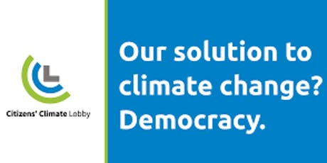 Citizens' Climate Lobby Monthly Meeting   tickets