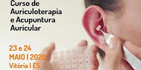 Curso de  Auriculoterapia e Acupuntura Auricular ingressos