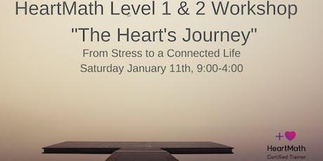 "HeartMath Level 1 & 2 Workshop ""The Heart Journey"" tickets"