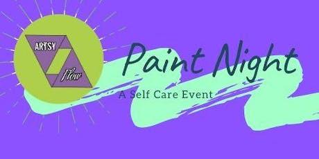 Artsy Flow:  Paint Night (Queen City Wonderland) tickets