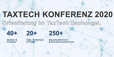 TAX TECH KONFERENZ WIEN 2020 tickets