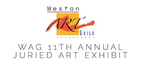 WAG 11th Juried Art Exhibit tickets