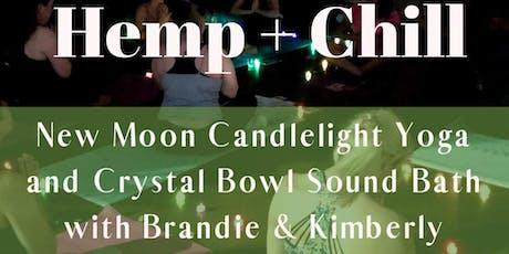 Hemp + Chill Yoga & Sound Bath tickets
