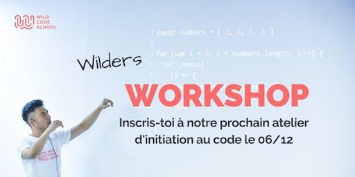 Atelier d'initiation au code