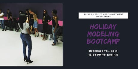 Holiday Modeling Bootcamp tickets