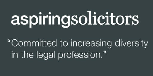 Aspiring Solicitors Interviews and Assessment Centres Workshop