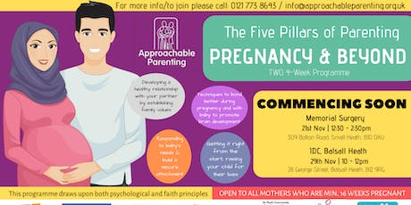 The 5 Pillars of Parenting: Pregnancy and Beyond tickets