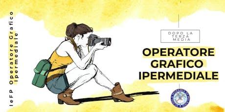 OPEN DAY OPERATORE GRAFICO IPERMEDIALE biglietti