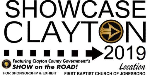 Clayton Chamber's Showcase Clayton Business Expo featuring Clayton County Government's Show on the Road & Chairman Turner