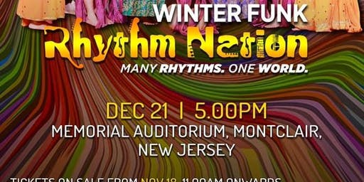 SHIAMAK WINTER FUNK 2019 - Rhythm Nation -Many Rhythms - One World