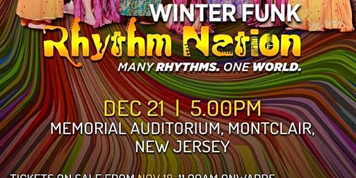 SHIAMAK WINTER FUNK 2019 - Rhythm Nation -Many Rhythms - One World
