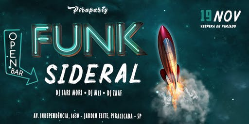 Funk Sideral Funk Open Bar - Piraparty