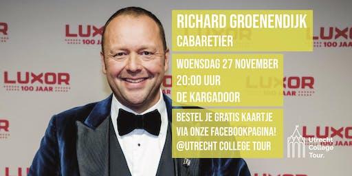 Richard Groenendijk bij Utrecht College Tour