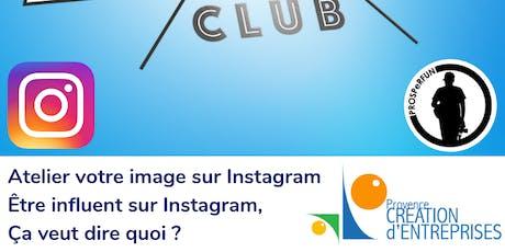 Atelier votre image sur Instagram billets