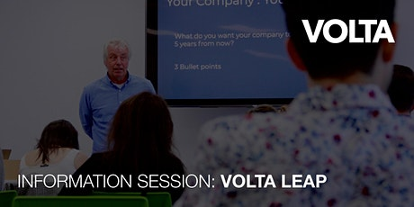 Volta LEAP - Leading Entrepreneurs to an Accelerator Path tickets
