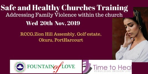 Safe and Healthy Churches Training