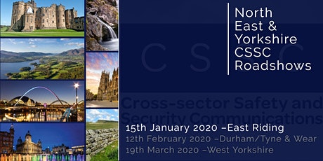 CSSC North East & Yorkshire Regional Roadshow - East Riding tickets