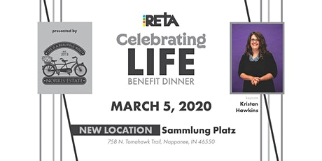 RETA's 2020 Celebrating Life Benefit Dinner tickets