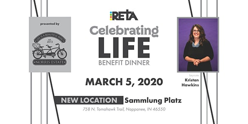 RETA's 2020 Celebrating Life Benefit Dinner
