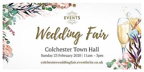 Colchester Town Hall Wedding Fair tickets