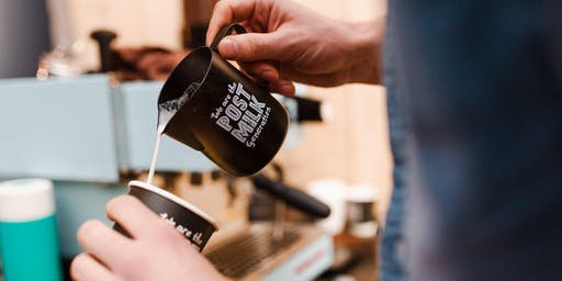 Oatly x Darkroom Espresso Zero Waste Latte Art Throwdown