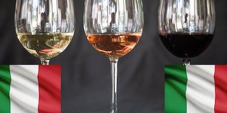 Italian Wine Tasting tickets