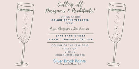 Colour of the Year 2020 - Silver Brook Paints tickets