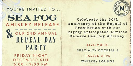 2nd Annual Repeal Day Party & Sea Fog Release