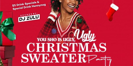 Ugly Christmas sweater tickets