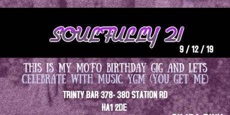 ERNEST PRESENTS: Soulfully 21 tickets