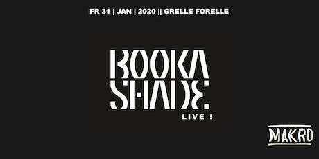 Booka Shade Live | Grelle Forelle Tickets