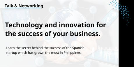 Technology and Innovation for the Success of your Business. tickets