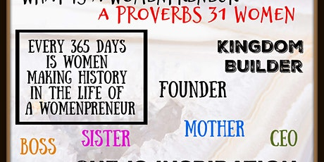 The acknowledgement of the Womenpreneur tickets