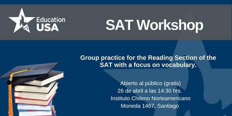 SAT Reading Vocab Workshop tickets