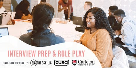 Interview Prep & Role Play with The 3Skills (Hosted by Carleton University) tickets