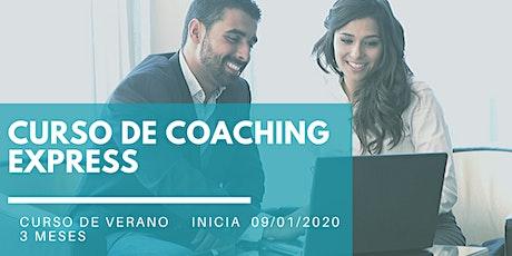 """""""Coaching Express"""" Curso de Verano - Seminario Inicial entradas"""