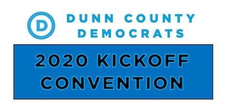 2020 Kickoff Convention: Dunn County Democrats tickets