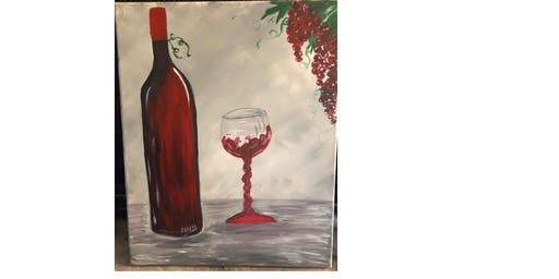 Paint and Sip RED WINE
