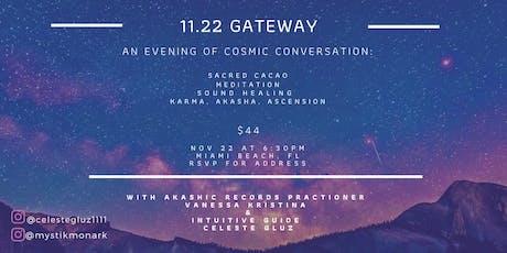 11.22 Gateway tickets