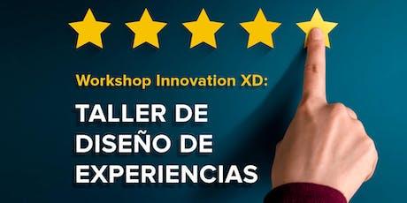 Taller Innovación en Diseño de Experiencias - CDMX boletos