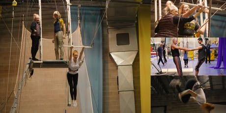 Private Flying Trapeze Class @ Circus Warehouse, NYC Circus Training Center tickets