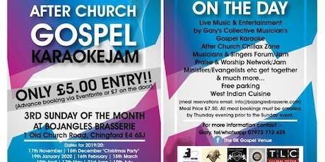 After Church Gospel Karaoke Jam tickets