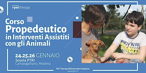 Corso Propedeutico in Interventi Assistiti con gli Animali