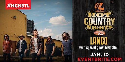 Hot Country Nights: LANCO with special guest Matt Stell