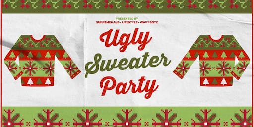 UGLY SWEATER PARTY AT MAI THAI | LATIN + HIP HOP + REGGAE
