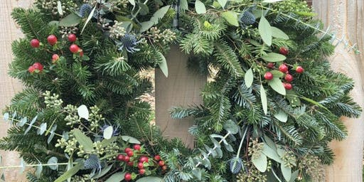 Wreath Arranging at Blairhaus with Alice's Table