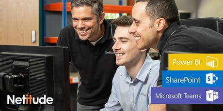 Power BI & The Modern Workplace: Unlock your data, max your productivity tickets