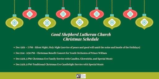 Christmas Schedule Good Shepherd Lutheran