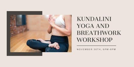 Kundalini Yoga and Breathwork Workshop tickets